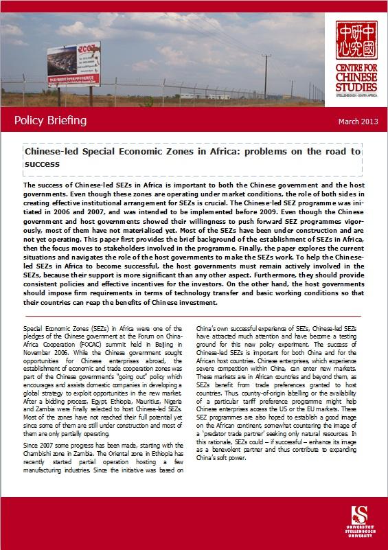 special economic zone policy its problem