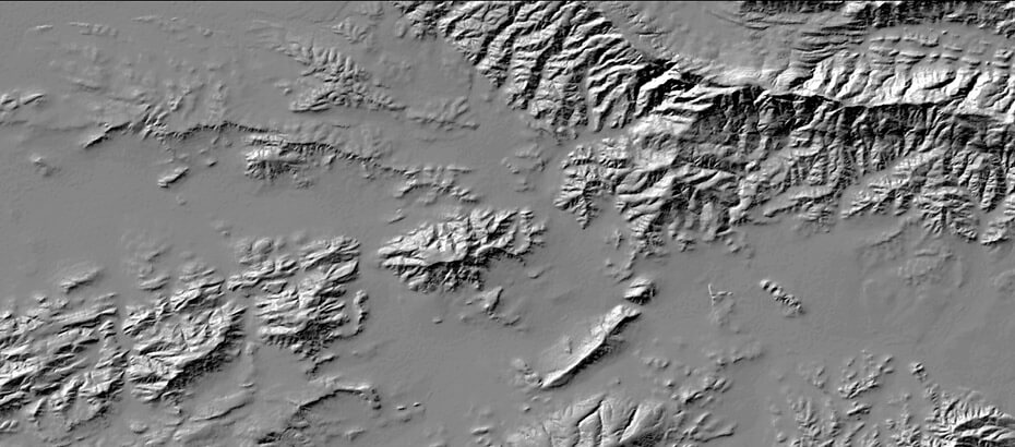 SUDEM Digital Elevation Model Development CGA - Terrain elevation data