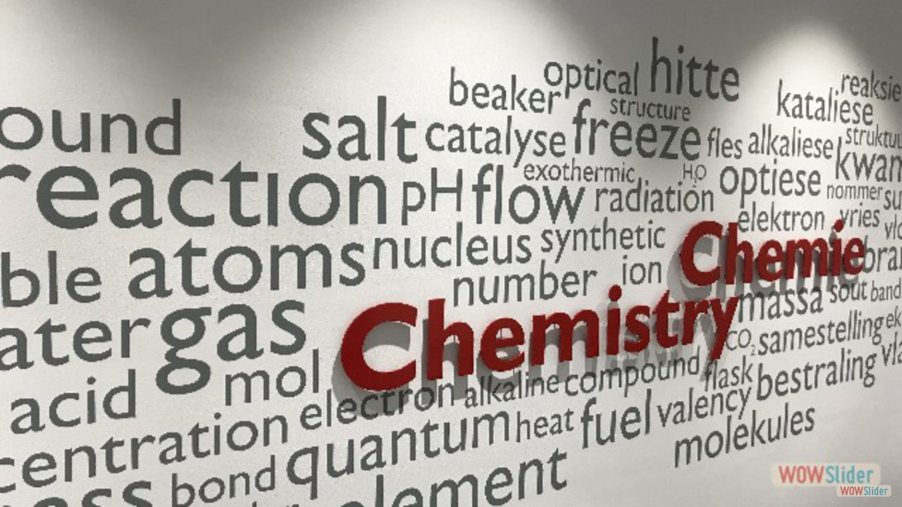 Department of Chemistry and Polymer Science - Stellenbosch University