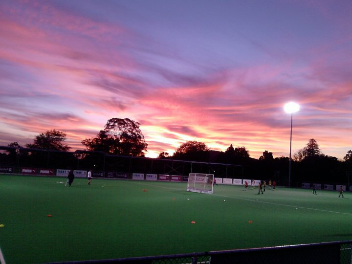 Maties Hockey Sunset