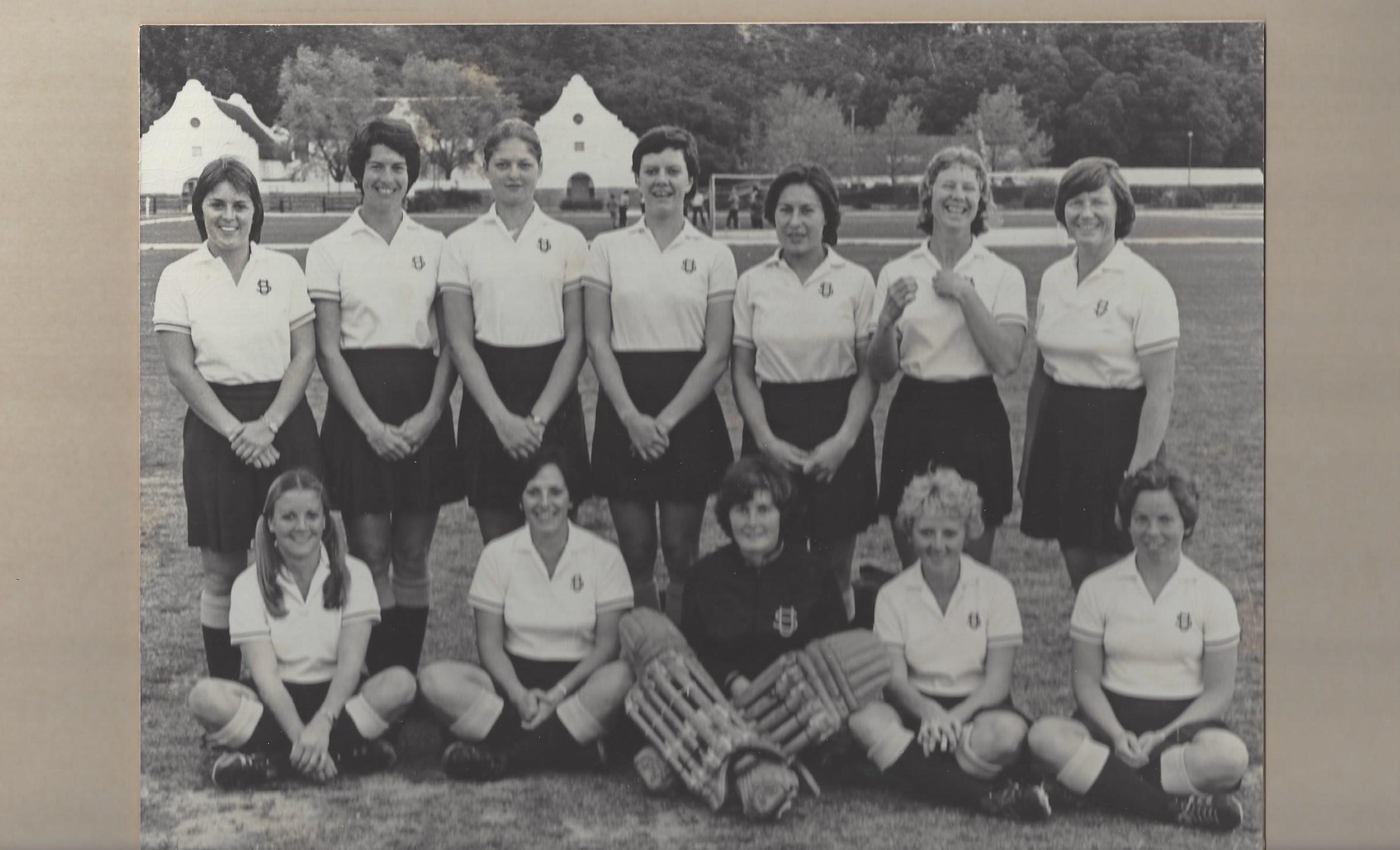 Dames 1ste span 1977