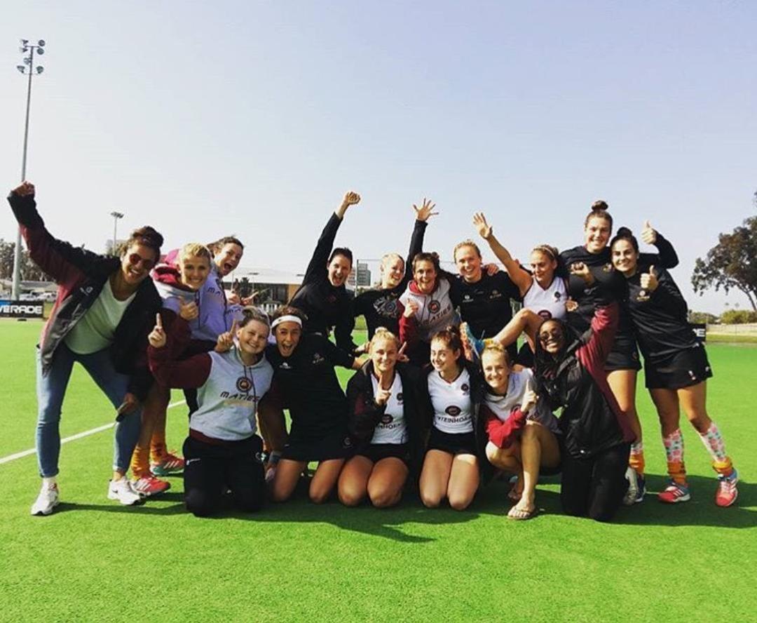 Ladies 1st league winners post