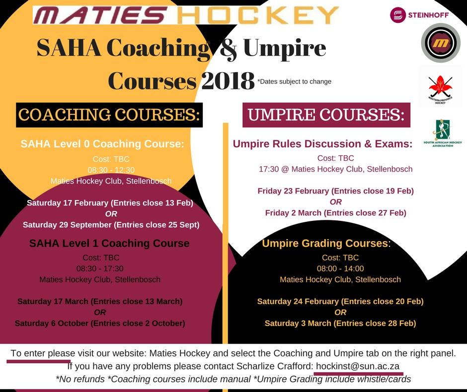 Coaching & Umpire 2018 ADD(3)