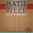 Check out the schedule for Matie Week this coming August.