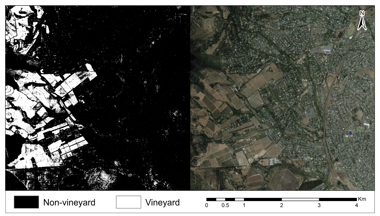 Figure 1: EFFICACY OF MACHINE LEARNING AND LIDAR DATA FOR CROP TYPE MAPPING