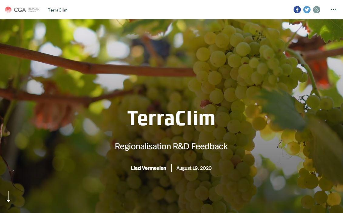 TerraClim StoryMap