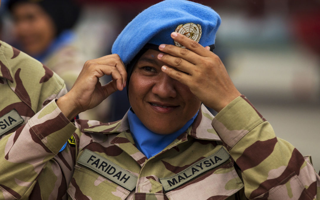 Speaking truce to power: The benefits of deploying female soldiers on foreign peacekeeping missions