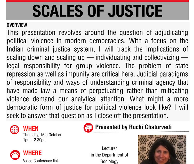 Indexing Transformation Seminar: Scales of Justice