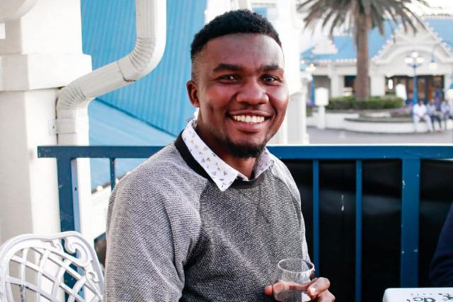 Luckymore Matenga (MA) receives book prize for the 2020 SASA students essay competition