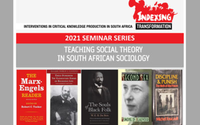 Teaching Social Theory in South African Sociology