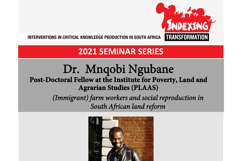(Immigrant) farm workers and social reproduction in South African land reform