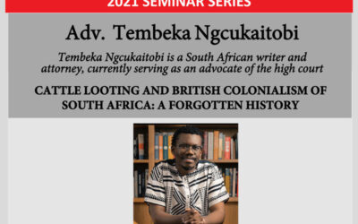 Cattle Looting and British Colonialism of South Africa: A Forgotten History